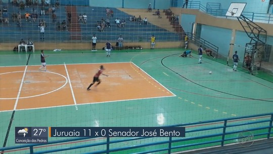 Confira gols e resultados da rodada da Taça EPTV de Futsal desta segunda (13)