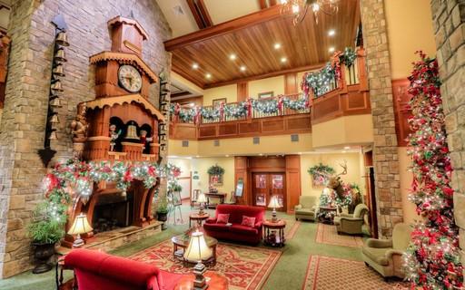 Conheça o hotel onde é Natal o ano todo