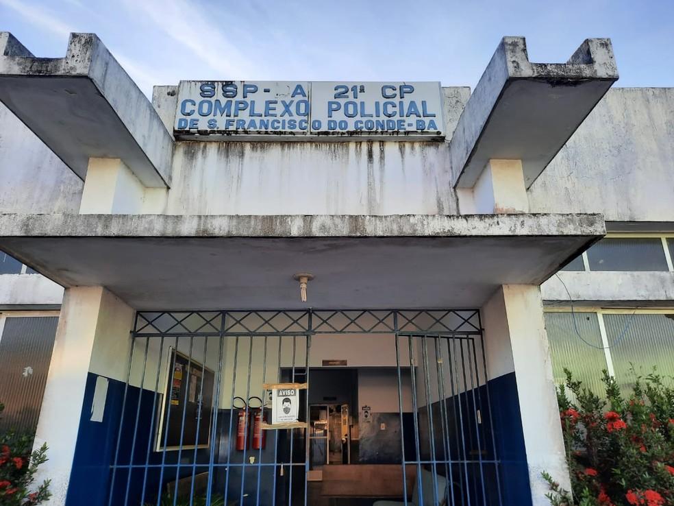 Caso é investigado na 21ª Delegacia Territorial (DT/São Francisco do Conde) — Foto: Polícia Civil