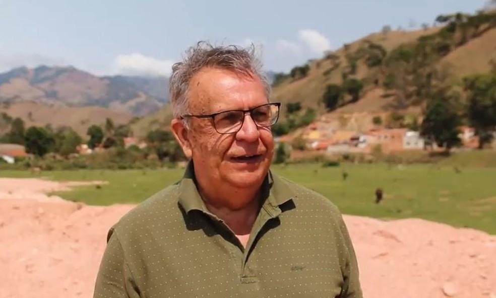 Antônio Claret Mota Esteves morreu um dia antes de ser reeleito prefeito em Passa Quatro (MG) — Foto: Reprodução/Partido Verde