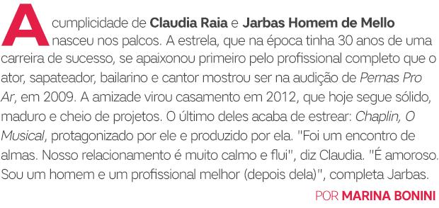 Claudia Raia e Jarbas Homem de Mello abre (Foto:  )