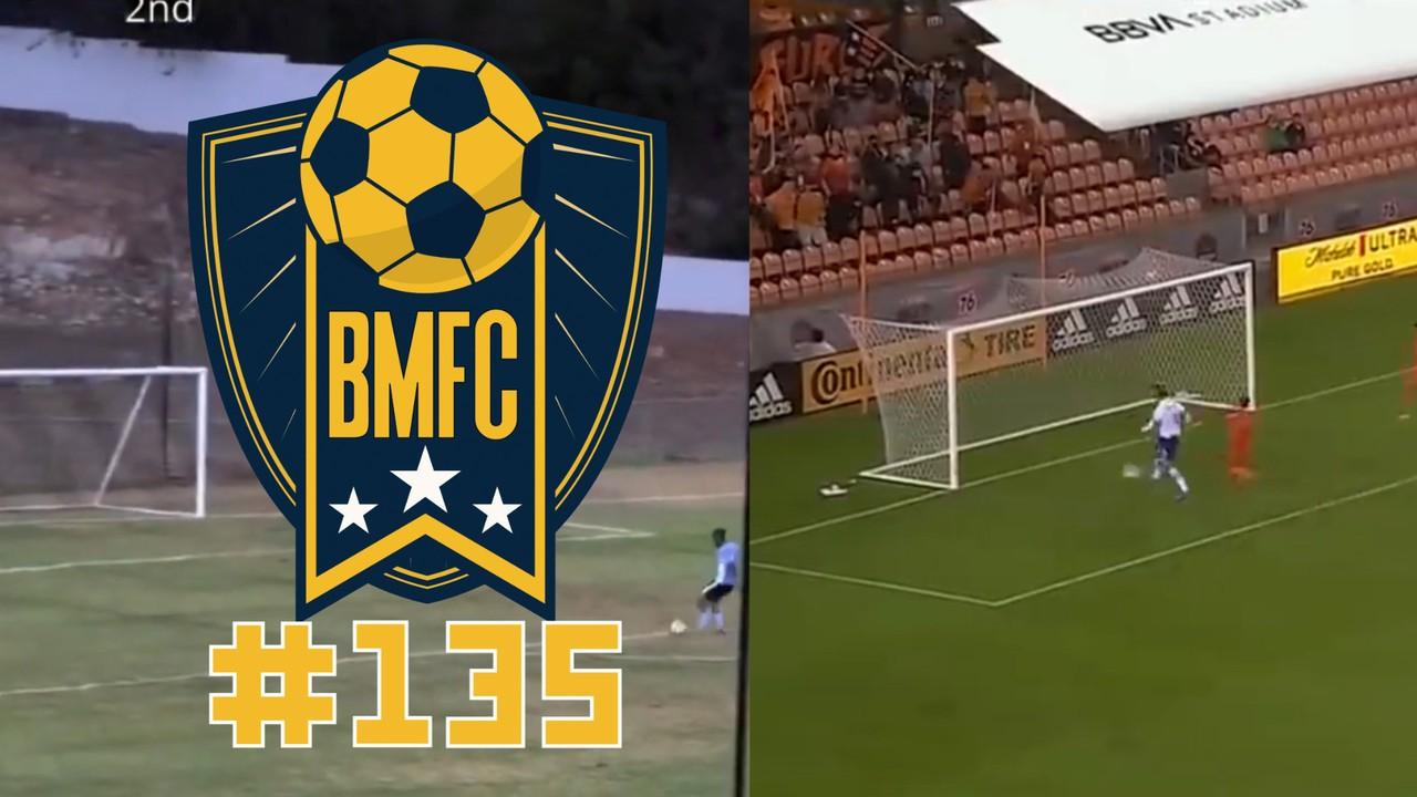 BMFC #135: Golaço sem querer, pintura de ex-Botafogo e lance bizarro na América Central