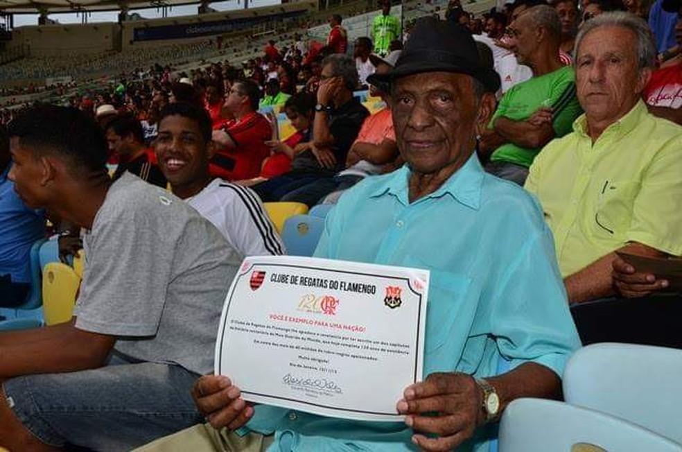 Índio é figura importante dentro da história do Flamengo — Foto: Reprodução
