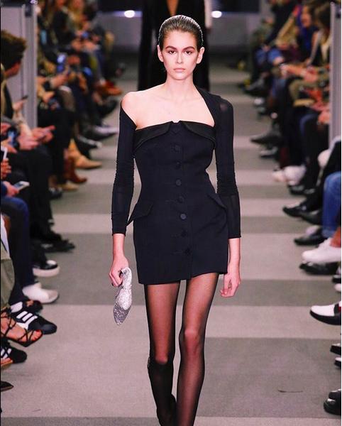 A modelo Kaia Gerber, filha da também modelo Cindy Crawford (Foto: Instagram)