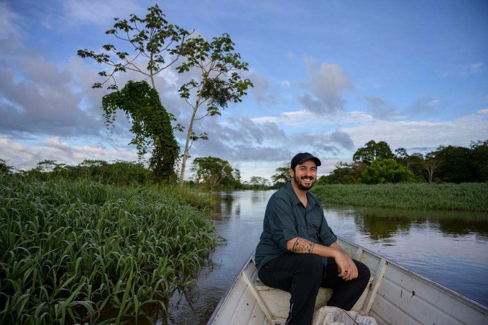 Biólogo brasileiro ganha prêmio nos EUA — Foto: Arquivo pessoal