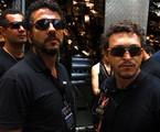 Marcos Palmeira e Fábio Lago | Estevam Avellar/ TV Globo