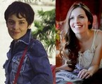 Camila dos Anjos em 'Sandy & Junior' e atualmente | Reprodução / Divulgação