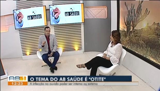 Otorrinolaringologista fala sobre otite no 'AB Saúde'