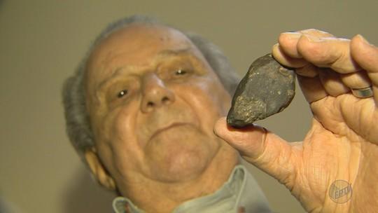 Meteorito ainda intriga moradores 50 anos após queda no interior de SP: 'achava que era um disco voador'