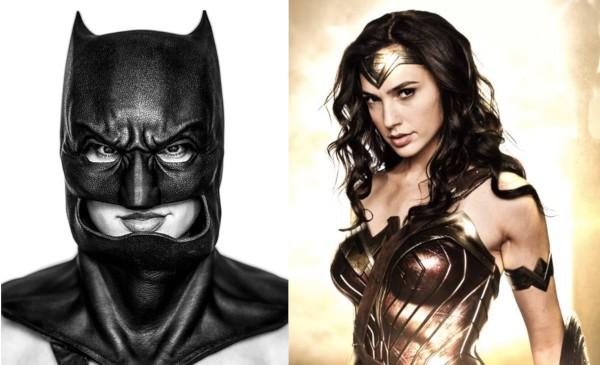 Gal Gadot como Batman e como Mulher Maravilha (Foto: Instagram)
