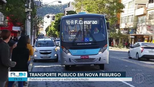 Prefeitura de Nova Friburgo precisa corrigir o edital do transporte público para licitação