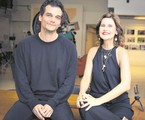 Wagner Moura e Simone Zuccolotto | Aline Arruda