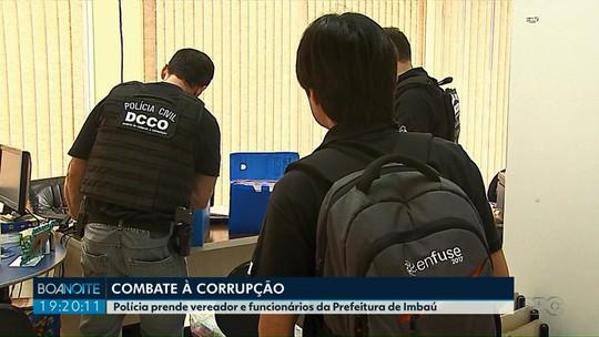 Vereador e secretários da Prefeitura de Imbaú são presos em operação contra corrupção