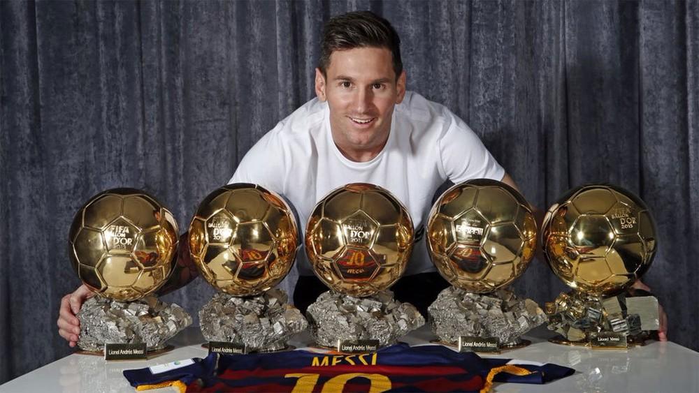 Messi Bola de Ouro Quiz