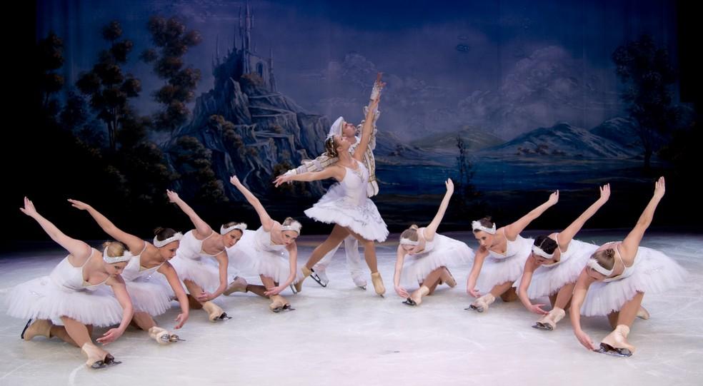 Espetáculo 'Ballet de Moscou no Gelo' tem duas sessões no Teatro Riachuelo neste domingo (4) — Foto: Ines Perez Pastor