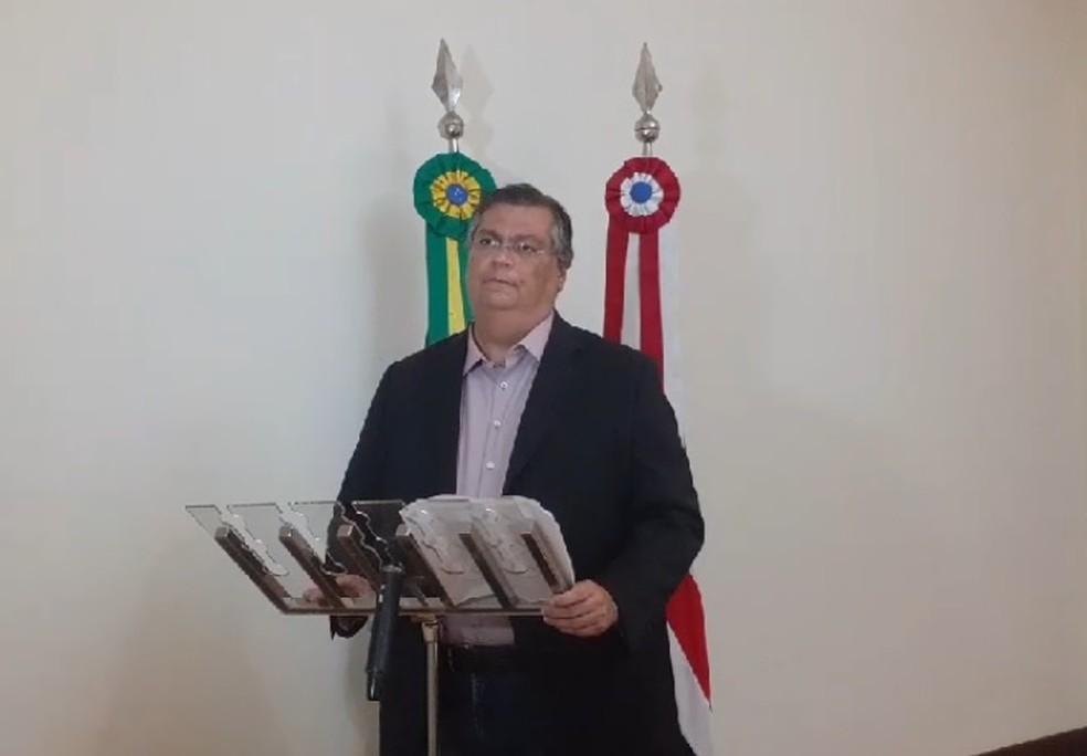 Flávio Dino (PCdoB), governador do Maranhão — Foto: Reprodução/Redes Sociais