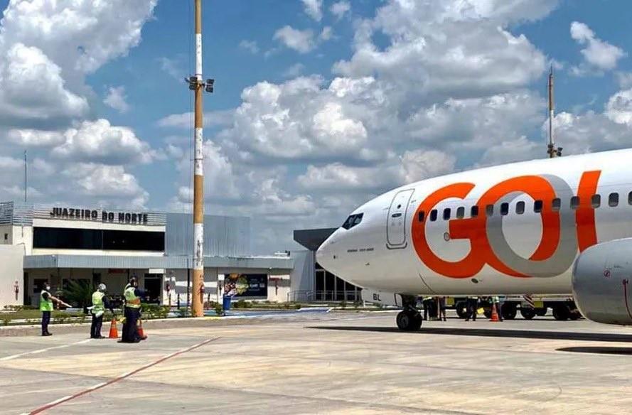 Gol retoma voos entre Fortaleza e Juazeiro do Norte em novembro, diz Camilo