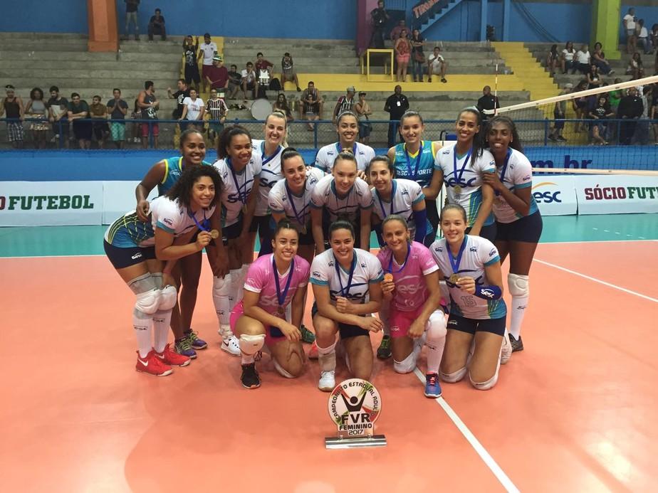 Roberta dita ritmo, Sesc/Rio vence Fluminense e conquista título do Carioca