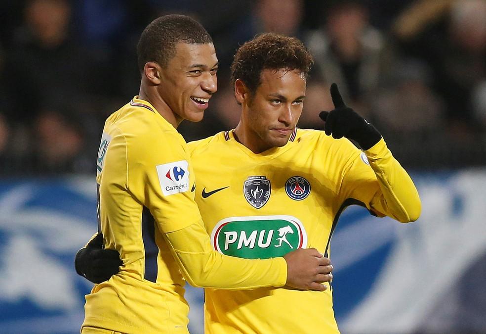 Destaque no título da França, Mbappé aparece como um rival de Neymar pelo protagonismo no PSG (Foto: Stephane Mahe/Reuters)