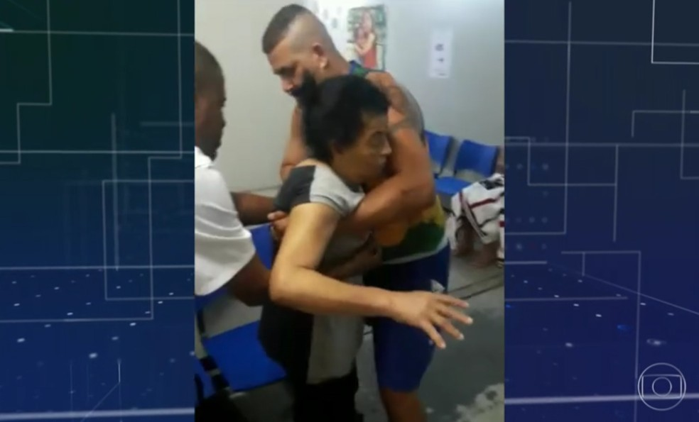Irene de Jesus Bento morreu após problemas no atendimento no Hospital Getúlio Vargas, no Rio (Foto: Reprodução/ TV Globo)