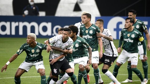 Corinthians x Palmeiras na Neo Química Arena