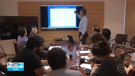 TCE: Pernambuco tem 1.548 obras paralisadas, que totalizam R$ 7,2 bilhões em contratos