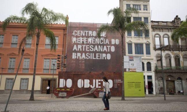 Centro de Referência do Artesanato Brasileiro ocupará três imóveis (Foto: Márcia Foletto / O Globo)