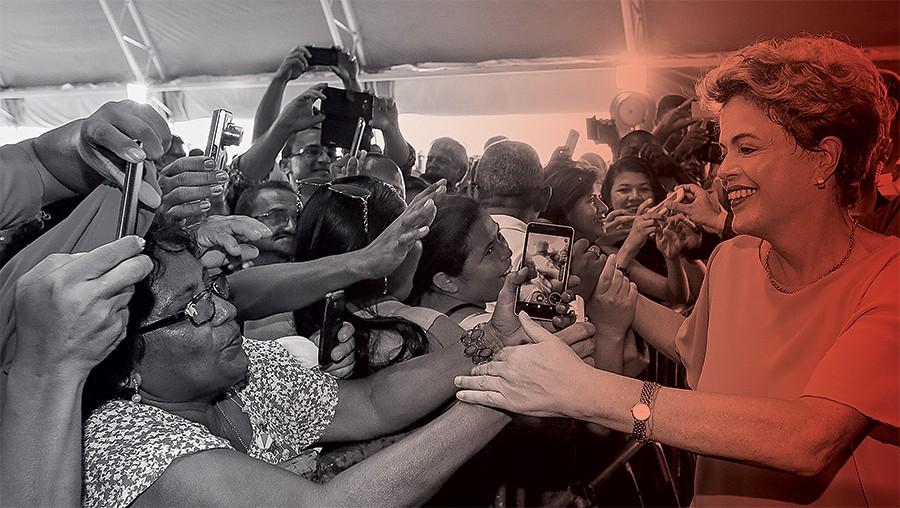 Dilma Rousseff faz entregas do Minha Casa Minha Vida no Maranhão  (Foto: Roberto Stuckert Filho/PR)