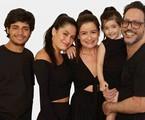 Lucia Mauro Filho e a família | André Wanderley