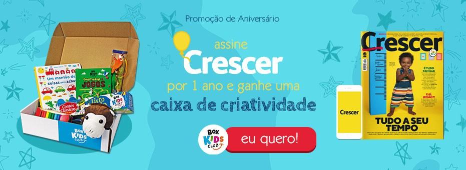 Assinou CRESCER por 1 ano, ganhou uma caixa da Box Kids Club (Foto: Divulgação)