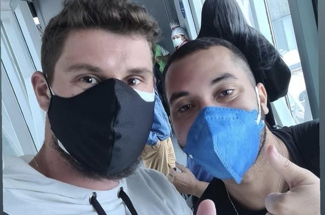 Bruninho e Gil (Foto: Reprodução/ Instagram)