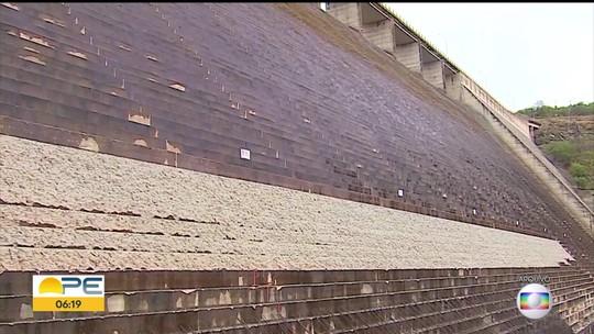 Obras na barragem de Jucazinho devem ser concluídas no fim de 2019