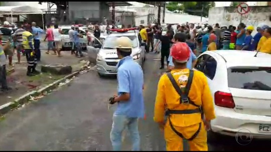 Tentativa de assalto termina com um suspeito ferido e outros dois detidos na Zona Norte do Recife