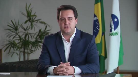 Ratinho Junior diz que vai cortar R$ 100 milhões de contratos para marmitas de presos no Paraná
