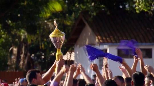 Enzo marca e Brasil Global leva o título da região norte na Liga Terrão MS