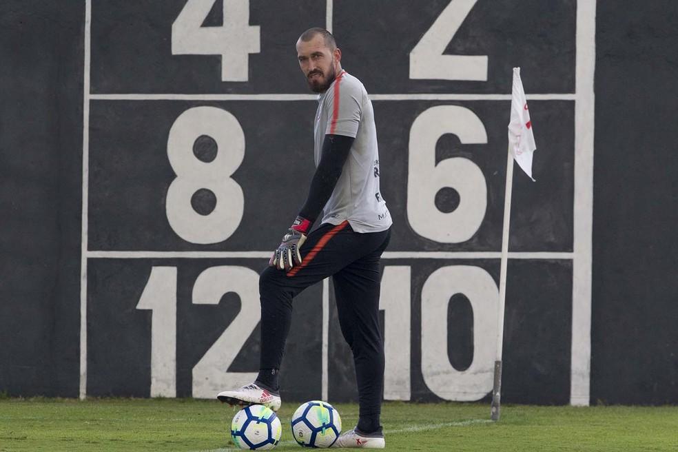 Walter foi titular do Corinthians nos últimos sete jogos (Foto: Daniel Augusto Jr/Ag.Corinthians)
