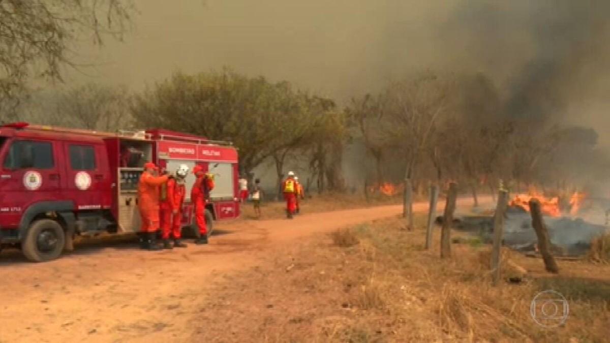 Bahia é um dos estados com mais focos de incêndios em setembro