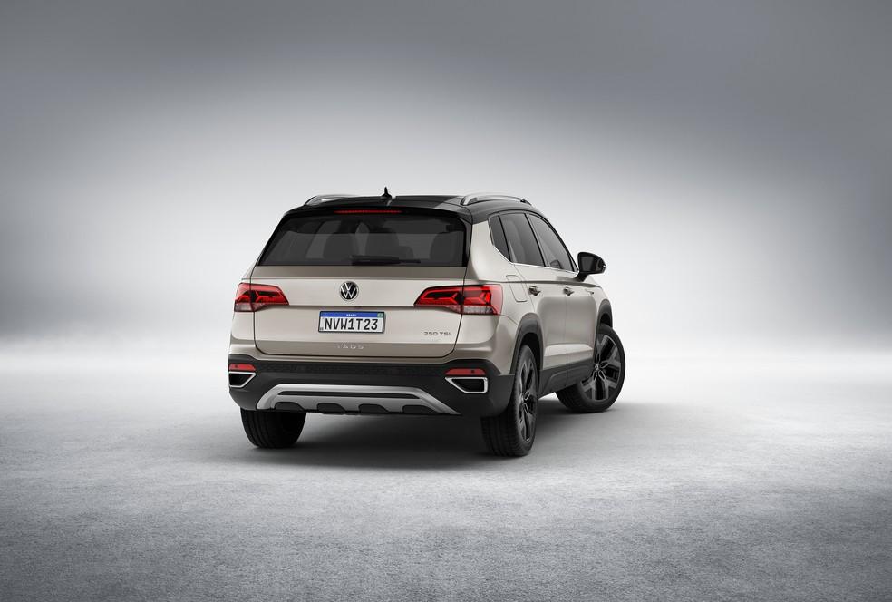 Volkswagen Taos terá lanternas de LED — Foto: Divulgação