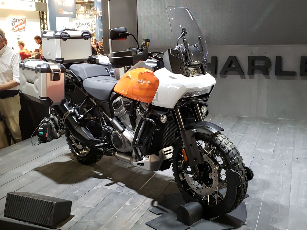 Harley-Davidson Pan America — Foto: Rafael Miotto/G1