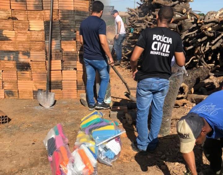 Policia Civil incinera 70 kg e 33 pés de maconha em João Pinheiro