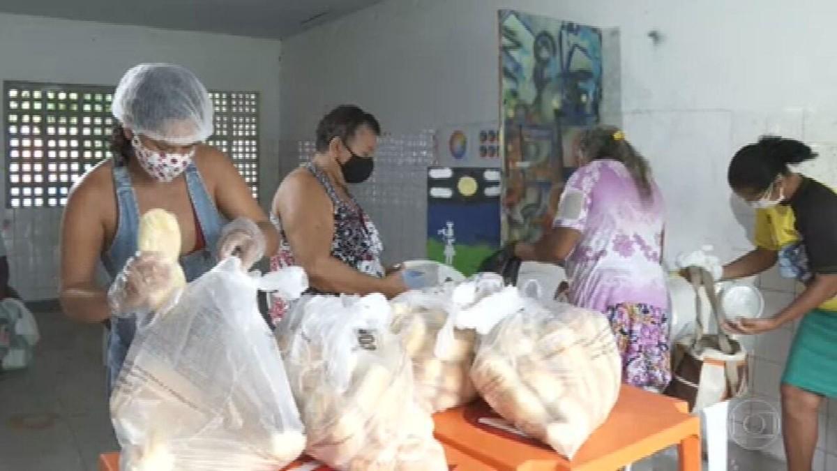 Sopa Amiga: doações estão alimentando muitas famílias