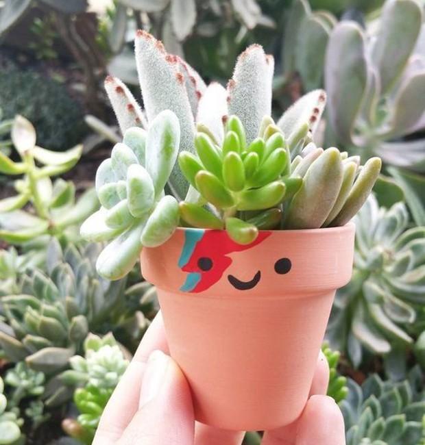 9-ideias-de-decoracao-com-plantas-para-o-dia-das-maes-vasos-com-pinturas-divertidas-personalizadas.jpg (Foto: Pinterest/Reprodução)