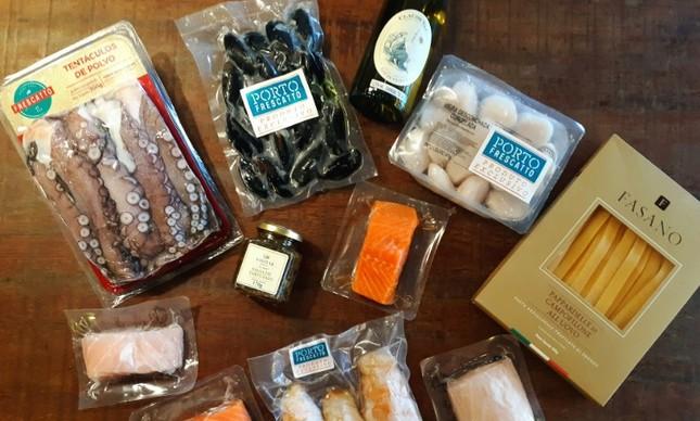 Porto Frescatto: peixes com vinho branco Claude Val