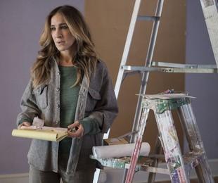 Sarah Jessica Parker em cena de 'Divorce'   Reprodução