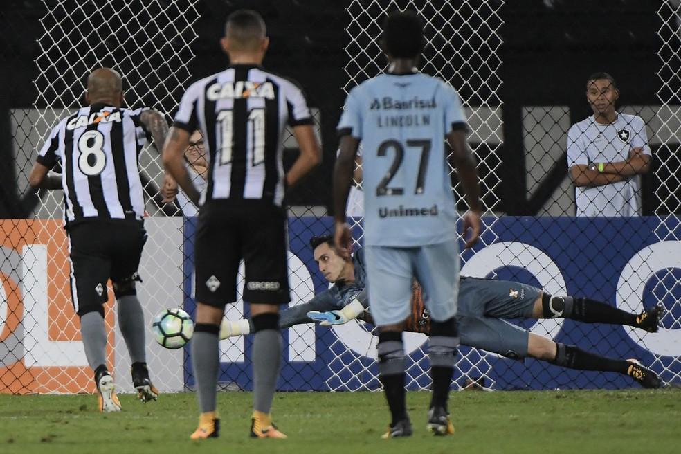 Gatito Fernandez Botafogo x Grêmio (Foto: André Fabiano/Estadão Conteúdo)