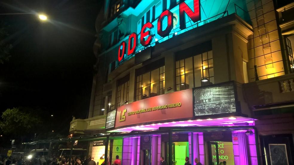 Abertura do festival foi realizada no Odeon, no Centro (Foto: Carlos Brito)