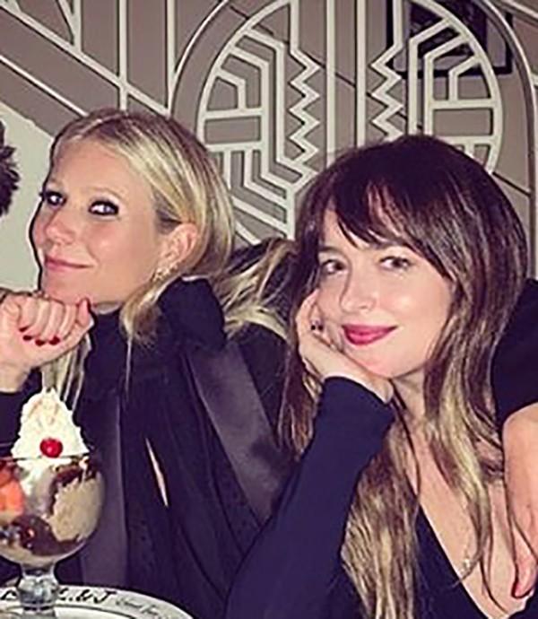 Gwyneth Paltrow surpreende com post elogiando Dakota Johnson, namorada do seu ex-marido Chris Martin - Monet | Celebridades