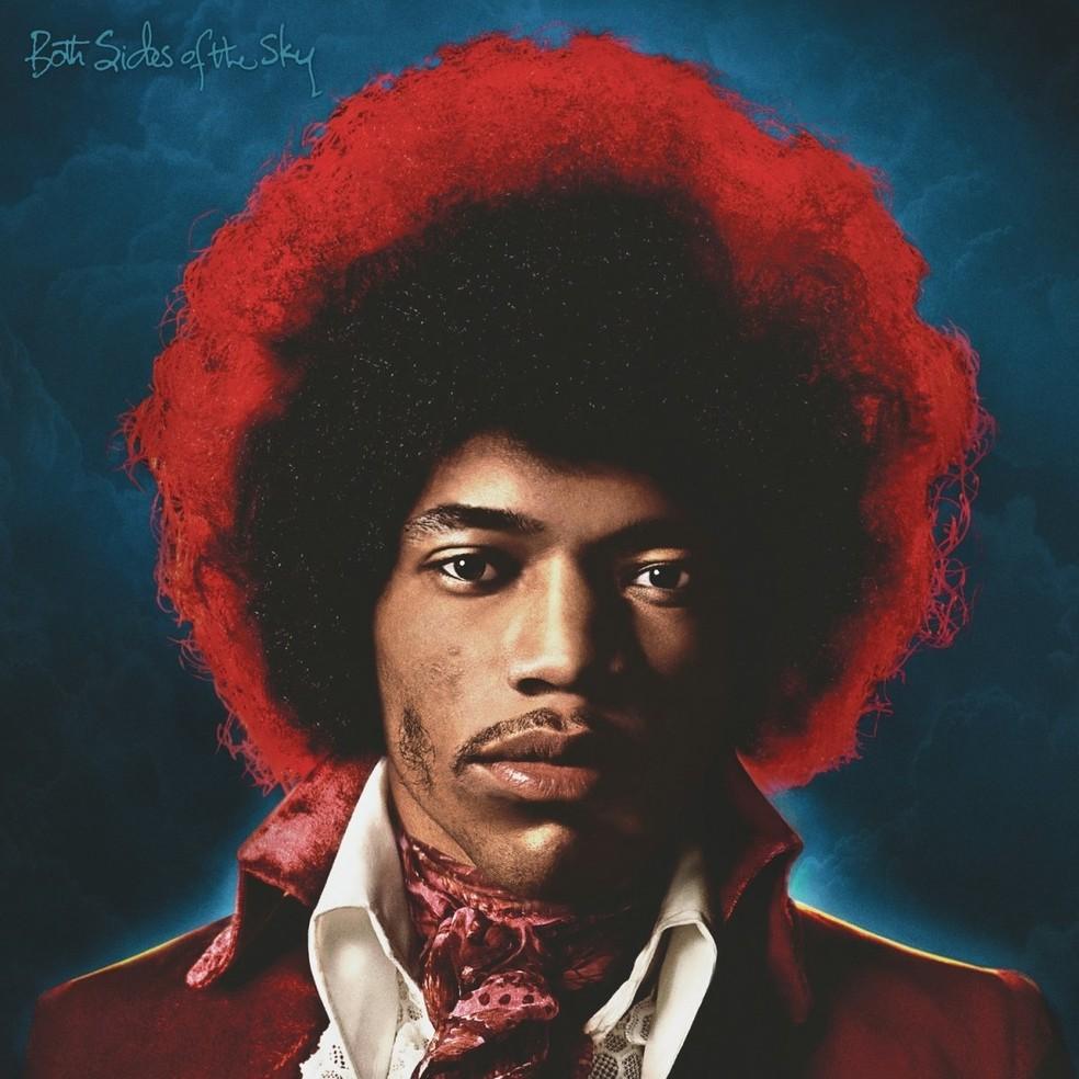 Capa do disco 'Both Sides of the Sky', de Jimi Hendrix (Foto: Reprodução)