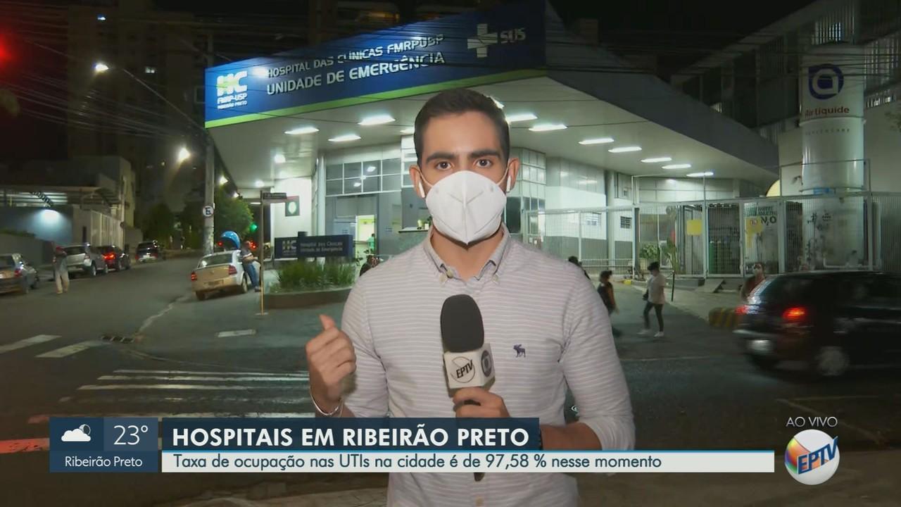 Veja como está a ocupação de leitos de UTI Covid em Ribeirão Preto