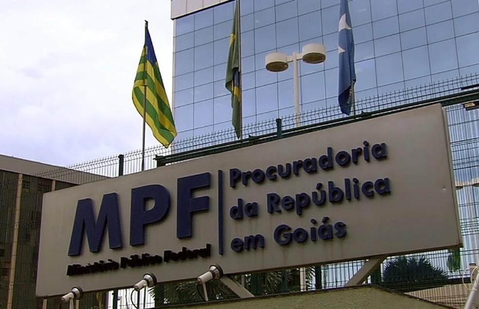 MPF/GO pede prisão de quatro investigados por desviar verbas da Saneago (Foto: Reprodução/TV Anhanguera)